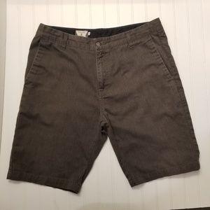 Volcom Gray Shorts Mens Size 34